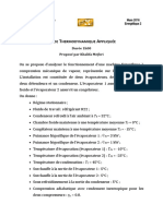 DS Thermodynamique Appliquée 2016
