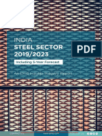 EMIS Insights - India Steel Sector Report 2019_2023