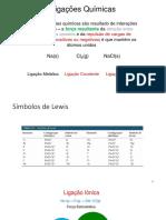Aula 3 - lig ionica