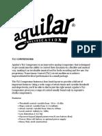 Aguilar TLC Compressor Manual