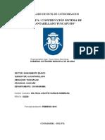 FNC Sistema de alcantarillado Tuscapujio