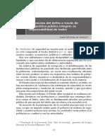 04 Prevención del delito a través de una política pública integral, es responsabilidad de todos - Isabel Miranda de Wallace