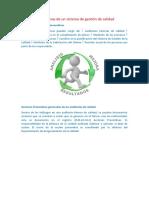 Acciones preventivas de un sistema de gestión de calidad