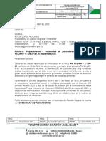 Respuesta a oficio No. P32JAA – 1- 556-20 de 26 de abril de 2020.