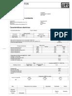 HOJA DE DATOS Trafo WEG de 40 MW 138-13.8 KV_DS14149484