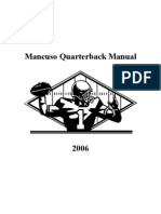 Mancuso Quarterback Manual