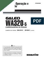 WA320-5 OPERAÇÃO E MANUTENÇÃO