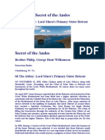 Secret of the Andes - The Abby Lords Amaru Muru Primary Retreat