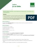 CONTEXTO NORMATIVO DEL TELETRABAJO EN CHILE