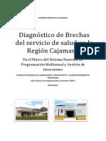 Diagnóstico de Brechas del servicio de salud en la Región Cajamarca