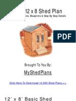 45954514 Free Shed Design Plans