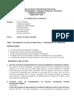 TALLER - ARRENDAMIENTO DE SERVICIOS Y MATERIALES - ARRENDAMIENTO DE TRANSPORTE
