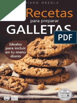 72 Recetas Para Preparar Galletas Mariano Orzola Pdf Chocolate Crema
