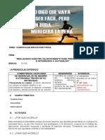 FASE III  ACTIVIDAD FÍSICA Y RECREATIVA (Autoguardado)
