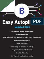 Bitcoin Autopilot Method Make 700$-800$ Per Week