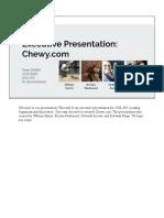 executive presentation  chewy