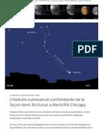 Cayce-L'histoire curieuse et confondante de la manière dont Arcturus a électrifié Chicago - L'univers aujourd'hui