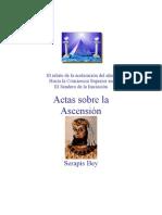 Actas Sobre la Ascensión - Serapis Bey