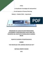 Fase Investigación. Metodología PACIE Modulo 5
