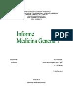Informe Medicina General 1