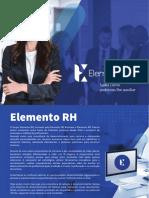 Apresentação institucional - Grupo Elemento RH