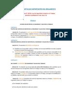 resumen articlos importantes reglamento SST
