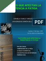 TEMA 01 Fatiga - Factores que afectan la resistencia