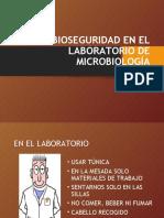BIOSEGURIDAD EN EL LABORATORIO DE MICROBIOLOGÍA