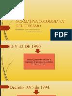NORMATINA COLOMBIANA DEL TURISMO