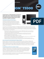 Dell Precision T3500 Brochure