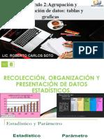 Agrupación y presentación de datos