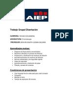 Trabajo Grupal Disertacion 1 Evaluacion (1)