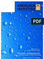 Andalucia Investiga. Plantas desaladoras