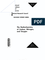 The Radiochemistry of Carbon,Nitrogen and Oxygen.us AEC