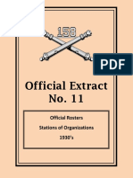 158th Field Artillery Official Extract No. 11