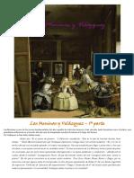 Proyecto Las Meninas y Velázquez B1 y B2 _ hoja del  profesor