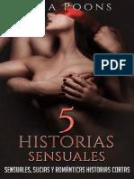 5 Historias Sensuales Vol. 1 - Sara Poons