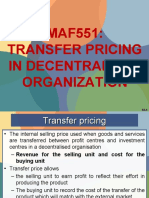Maf551 Transfer Pricing