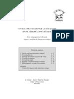 Conseils Pratiques Pour La Rédaction D'une Dissertation Critique