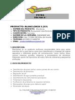 F.T. BLANCLOROX
