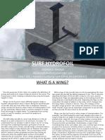 surf hydrofoil