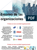 SESION 6- A El Entorno de las organizaciones