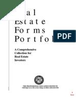 Carleton Sheets - No Money Down - Real Estate Forms