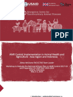 1. FAO_Regional and Indonesia AMR Surveillance and Control_2May2019_Jim