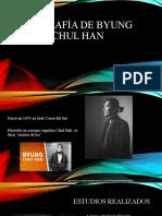 Biografía de Byung Chul Han (1)