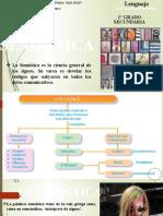 CLASE, LENGUAJE, LA SEMIÓTICA, 1 GRADO, TEMA 5.pptx