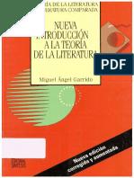 Garrido, Miguel Ángel (Garrido, Antonio & García Galiano, Ángel, cols.) - Nueva introducción a la teoría de la literatura - Síntesis, 2004 - z-lib.org