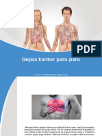 gejala kanker paru-paru
