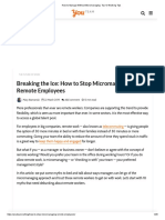 How to Manage Without Micromanaging_ Top 10 Working Tips