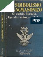 El simbolismo Francmasónico - Albert G Mackey.pdf